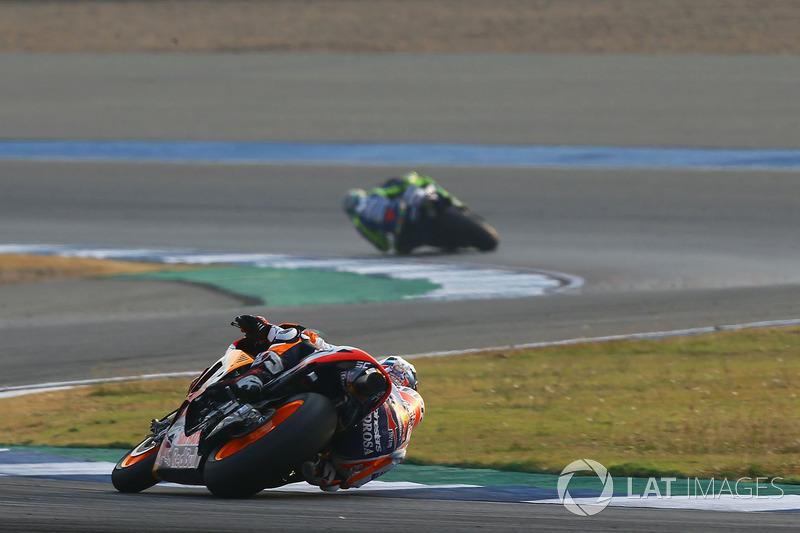 Pedrosa y Valentino Rossi, Yamaha Factory Racing
