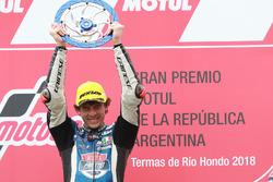 Le vainqueur Marco Bezzecchi, Prustel GP