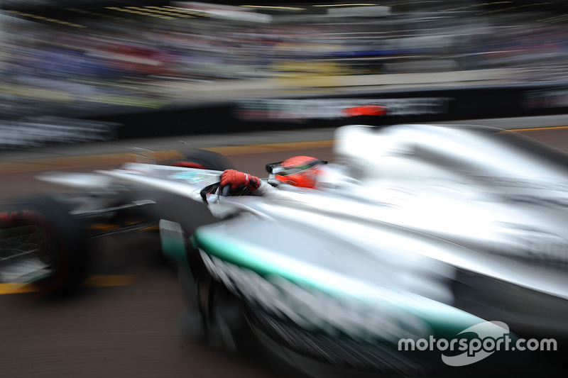 Monaco 2012, Michel Schumacher, Mercedes