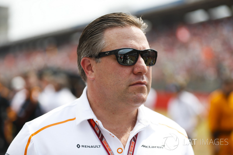Zak Brown, McLaren Technology Group
