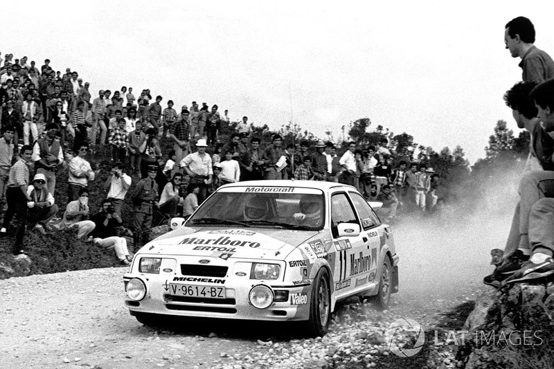 Carlos Sainz, Antonio Boto, Ford Sierra RS Cosworth