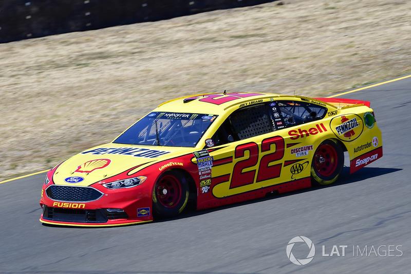 12. Joey Logano, Team Penske, Ford Fusion Shell Pennzoil
