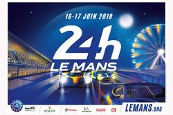 2018 Le Mans 24 Saat poster