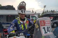 #141 Livio Metelli, in partenza per l'ultima tappa