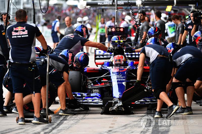 Pierre Gasly, Scuderia Toro Rosso: 45