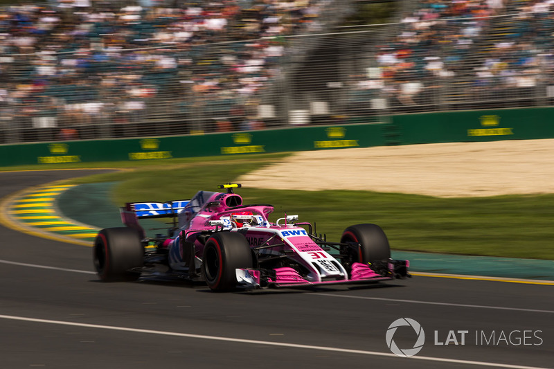 14. Esteban Ocon, Force India VJM11