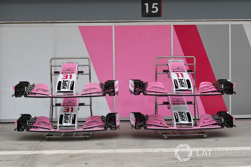 Force India VJM11 nariz y ala delantera