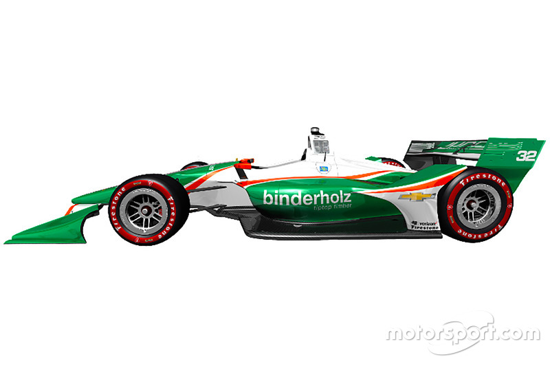 Juncos Racing livery unveil