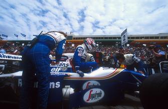 Pole sitter Nigel Mansell, Williams FW16B