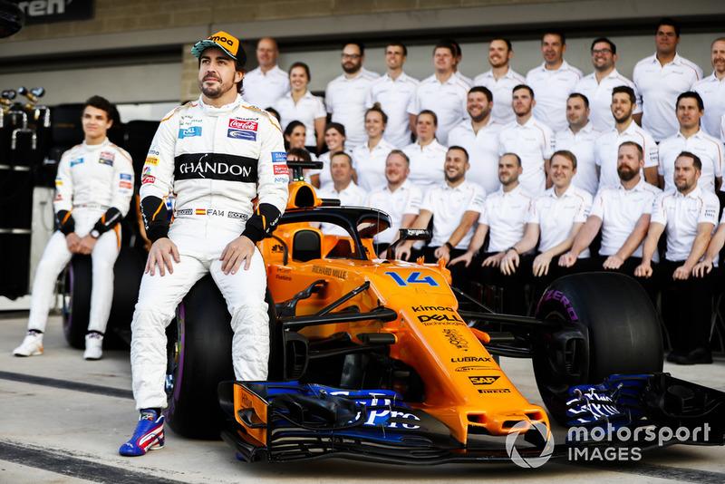 Lando Norris, McLaren, Fernando Alonso, McLaren