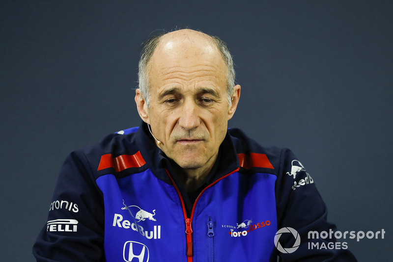 Franz Tost, Team Principal, Scuderia Toro Rosso, in the Team Principals Press Conference
