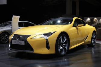 Lexus LC 500h Yellow Edition 2019