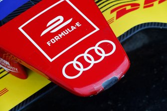 The nosecone on the Audi Sport ABT Schaeffler, Audi e-tron FE05