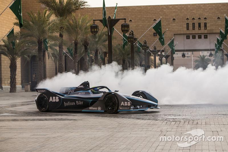 Felipe Massa en auto Gen2 de FIA Fórmula E