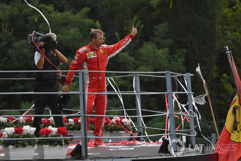 5º Kimi Raikkonen: 100 podios