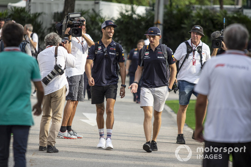 Daniel Ricciardo, Red Bull Racing y Max Verstappen, Red Bull Racing