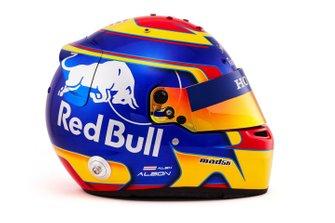 Helmet of Alex Albon, Scuderia Toro Rosso