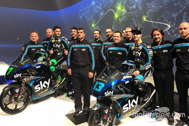 Anuncio Sky Racing Team VR46