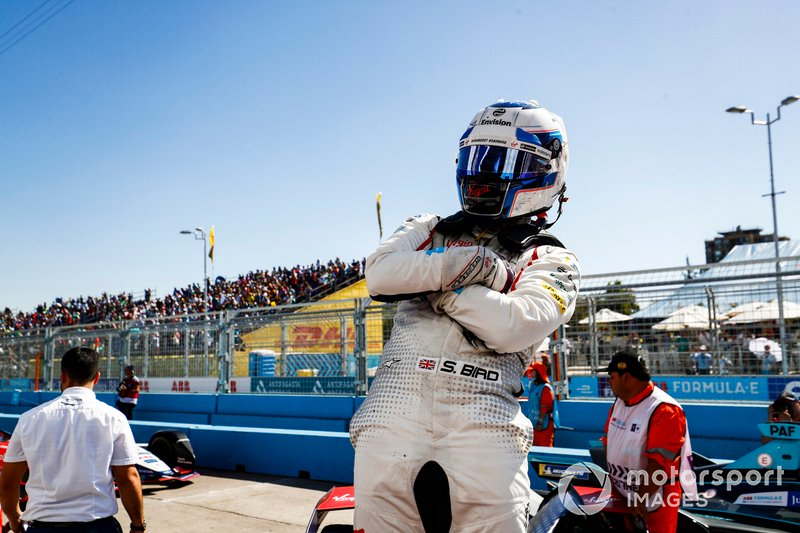 Sam Bird, Envision Virgin Racing, Audi e-tron FE05, wins the ePrix