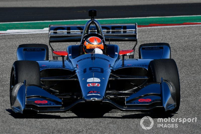 #19: Santino Ferrucci, Dale Coyne Racing, Honda
