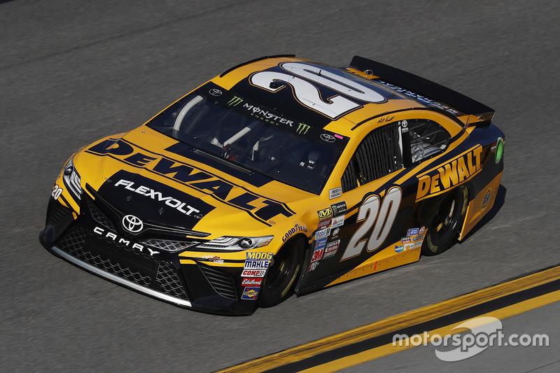 #20: Matt Kenseth, Joe Gibbs Racing, Toyota