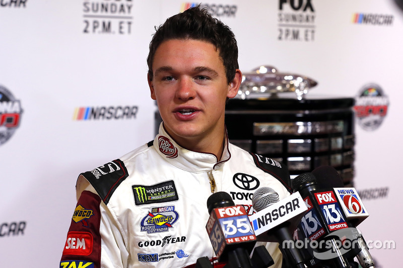 NASCAR Cup. Самый молодой: Грей Голдинг, BK Racing (19 лет)