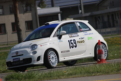 Bruno Riesen, Abarth 500 R3T, Team Rallye Top