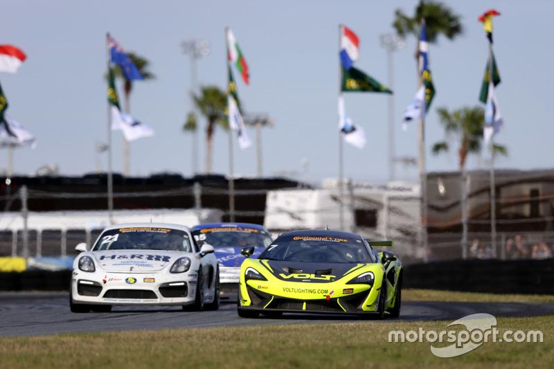 #7 Automatic Racing/VOLT Racing McLaren GT4: Alan Brynjolfsson, Chris Hall