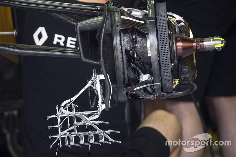 تفاصيل مكابح سيارة رينو