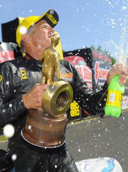 Pro Stock Motorcycle winner Jerry Savoie