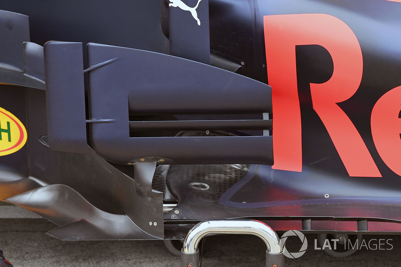 Red Bull RB13: Windabweiser