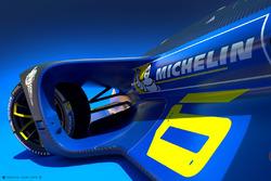 Partnership tra Roborace e Michelin