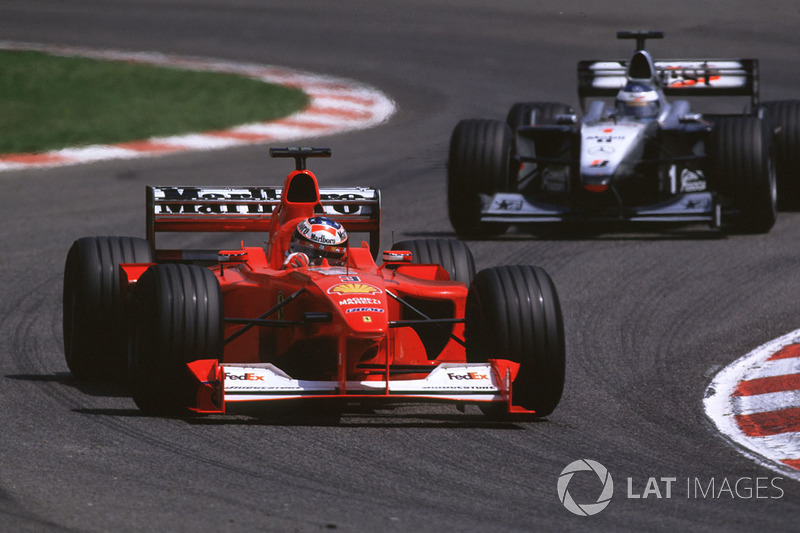 2000 Spanyol GP, Ferrari F1-2000