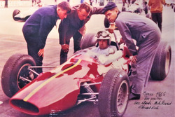 Georges Gachnang, Maserati, Scuderia Cegga, Formula 1, Campionato di Svizzera, Monza, 1965