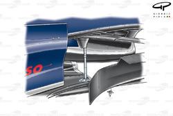 STR02 (Red Bull RB3) 2007 floor fixing
