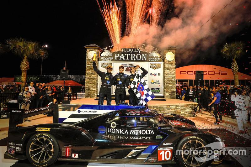 2. Winners Ricky Taylor, Jordan Taylor, Alex Lynn, Wayne Taylor Racing