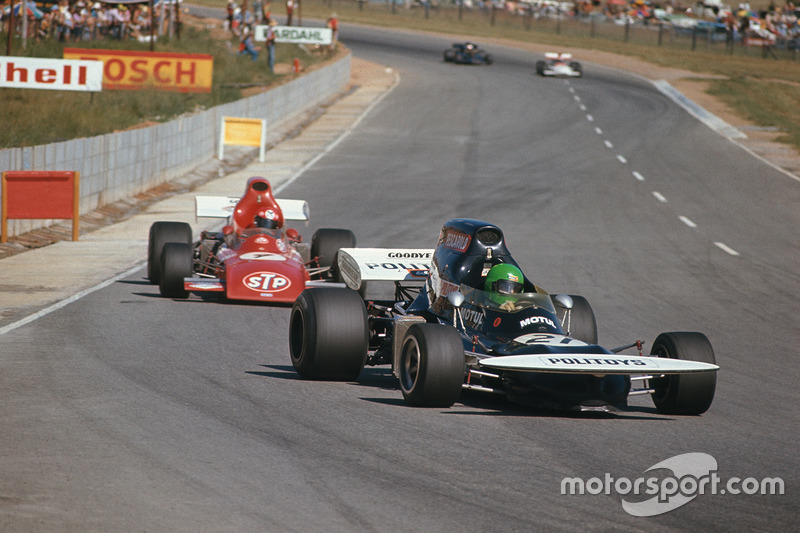 Henri Pescarolo, March 721 Ford, Niki Lauda, March 721 Ford