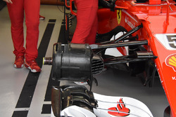 Ferrari SF70H front break detail