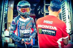 Joan Barreda entrenando, Monster Energy Honda