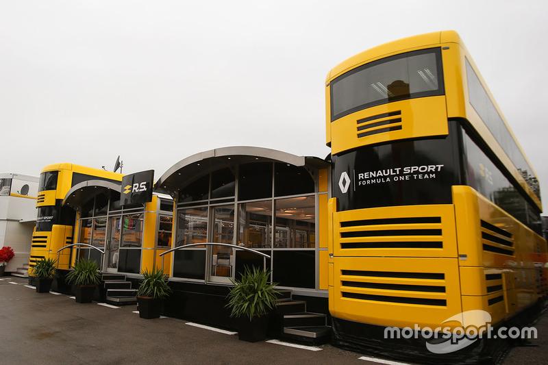 Моторхоум Renault Sport F1 Team