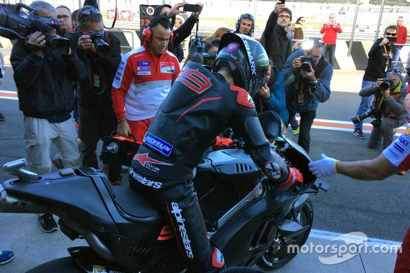 Jorge Lorenzo, Ducati Team - Tes Valencia 2016