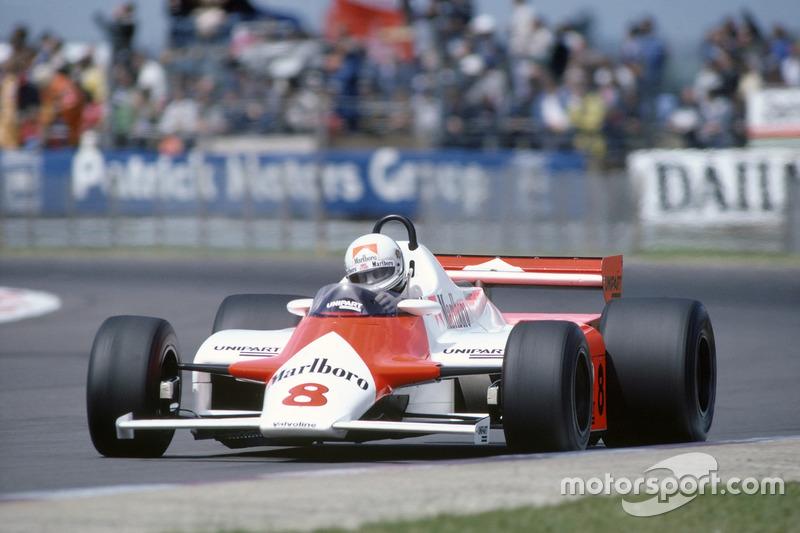 Andrea de Cesaris, McLaren MP4/1-Ford Cosworth