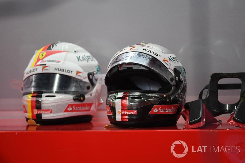 Helm Sebastian Vettel, Ferrari