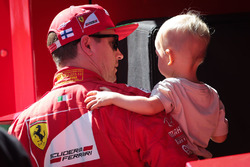 Кими Райкконен, Ferrari с сыном Робином