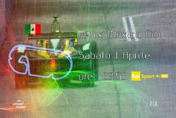 ePrix di Città del Messico, la locandina RAI