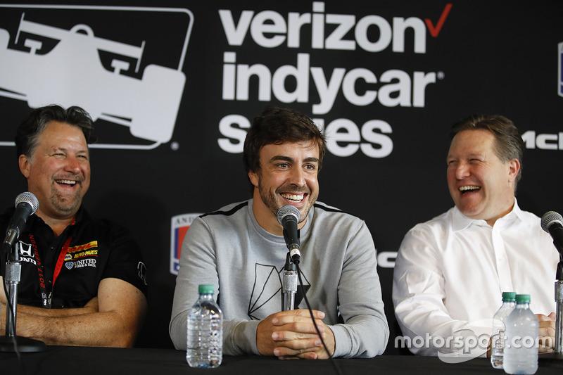 Michael Andretti, Andretti Autosport, Fernando Alonso, Zak Brown