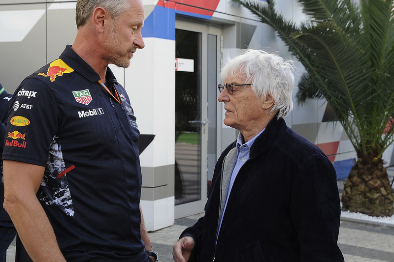 Jonathan Wheatley, Red Bull Racing Team Manager, Bernie Ecclestone