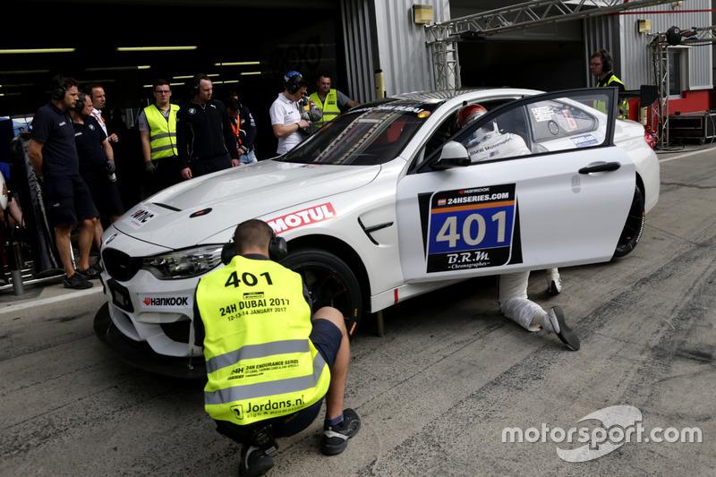 #401 Schubert Motorsport Germany BMW M4 GT4: Ricky Collard, Jens Klingmann, Jörg Müller
