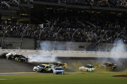 Kurt Busch, Stewart-Haas Racing Ford wrecks
