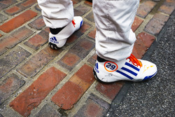 Fernando Alonso, Andretti Autosport Honda on the yard of bricks